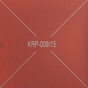 Special Fabric Impression Plain Imported Orange Rubber Fillet